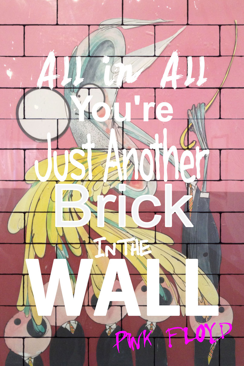 Pink Floyd Another Brick In The Wall Teacher Poster 24 X 36